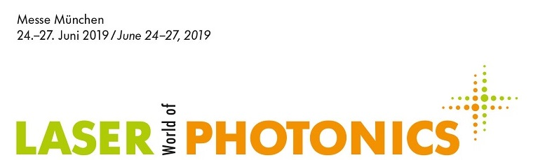 We will take part in the 2019 LASER World of Photonics